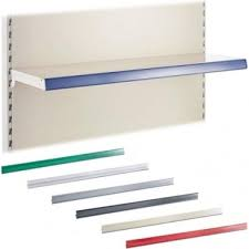 epos ticket edge for retail shelving wall or gondola units l665 mm