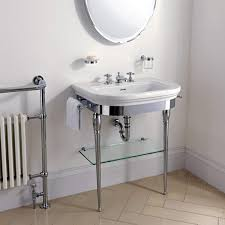 chrome sink legs. Delighful Chrome Imperial Carlyon Basin Stand With Chrome Legs And Washbasin Inside Sink A