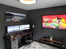 Grahitek | Bedroom setup, Home office setup, Home office design