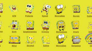 Free download Drugs SpongeBob Wallpaper ...