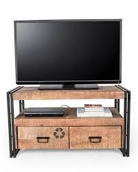 industrial reclaimed furniture. Reclaimed Wood TV Stand Industrial Furniture Range B