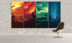 on star wars canvas panel wall art with decorate your wall with star wars canvas art panel wall art