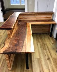 wooden office table. Wooden Office Desk Latest Design Ideas Table
