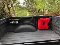 2017 + Ford Truck Rotopax Fuel Can Bed Mount Bracket Kit - JDS Customs