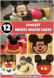 12 Coolest Mickey Mouse Cake Ideas Coolest Birthday Cakes