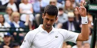 nearer Novak Djokovic gets to the final ...
