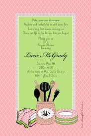 Kitchen Tea Party Invitation Kitchen Shower