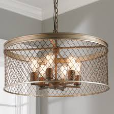 contempory lighting. Contemporary Cage Chandelier - 6-Light Contempory Lighting