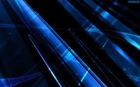 Black Blue Shards Wallpaper Hd - HD Blast