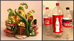 Diy Ideas With Plastic Bottles â Diy Enchanted Fairy House Lamp