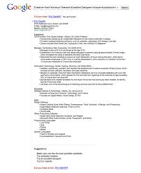 cool and creative resumes   bored pandaeric gandhi  amp  his google resume