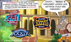 Super Bowl Roman Numerals Chart Roman Numerals Lesson The Superbowl Roman Numerals