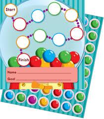 Gum Ball Machine Mini Incentive Charts