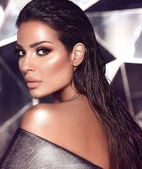the beautiful nadine nib njeim makeupforever worlds beautiful women colorful makeup beauty queens