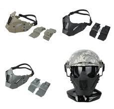 Jay Design Fast Mask Us 28 43 30 Off Tmc2623 New Jay Fast Module Pdw Mesh Mask Comfortable Design Combat Gear Tactical Half Face Mask Fit Af Helmet In Hunting Gun