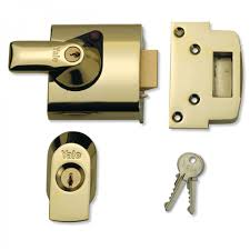 Yale Front Door Lock PBS1 High Security Nightlatch 60mm Backset