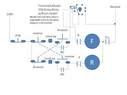 3 phase motor reversing with delay and limit switches reversing drum switch wiring diagram at Ac Motor Reversing Switch Wiring Diagram