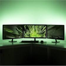 Tv accent lighting Tv Surround Keeboshop Novabright Usb Accent Lighting Kit For Flat Screen Tv Lcd Desktop Pc