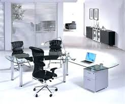 glass home office furniture. Modern Glass Office Desks Furniture Alluring Desk Executive Home E