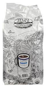 Jim's organic coffee's score is calculated based on overall customer ratings, brand name jim's organic coffee does offer some benefits for shipping, returns and exchanges on its website. Ralphs Jim S Organic Coffee Together Decaffeinated Medium Heavy Roast Whole Bean Coffee 5 Lb