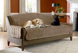 Sofa pet covers Modern Deluxe Comfort Sofa Furniture Cover With Arms Surefit Pet Solutions Pet Furniture Covers Protectors Surefit
