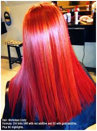Theres No Red Like A Chi Red Chicolor Chicolor Hair