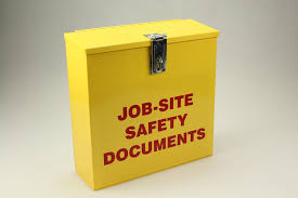 Safety Document Job Site Boxes Job Site Safety Documents