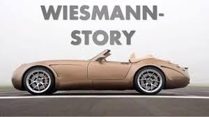 Wiesmann-Story - Sportwagen-Manufaktur Wiesmann - YouTube