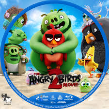 The Angry Birds Movie 2 (2019) R1 Custom Blu-Ray Labels - DVDcover.Com