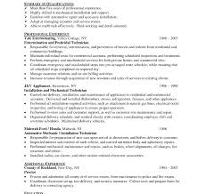 Impressive Resume Good Resume Examples 650 612 Tire Technician Cover Letter