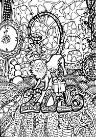 Small Picture a cute monkey on new years party coloring page monkey coloring