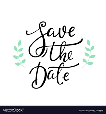 Save The Date Images Free Save The Date Lettering Decor
