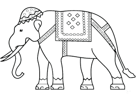 Printable Elephant Coloring Pages Zupa Miljevcicom