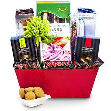 canadian gourmet food nut free gift basket large
