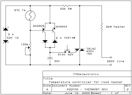 charles cozy project manfred s simple room thermostat schematic
