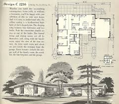 mid century modern floor plans inspirational mid century home plans luxury modern vintage house plans