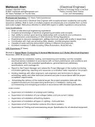 Electrical Engineer Cv Sample Docshare Tips