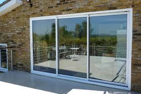triple sliding glass patio doors far fetched three panel door vinyl replacement 4 interior design 38
