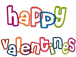 happy valentine s day clip art. Beautiful Happy Happy Valentines Colorful Text Clipart Throughout Valentine S Day Clip Art A