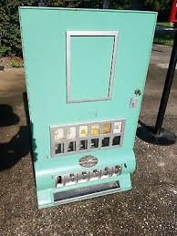 Single Cigarette Vending Machine New ANTIQUE 48'S PeneVend Co 48 Cent Single Cigarette Vending