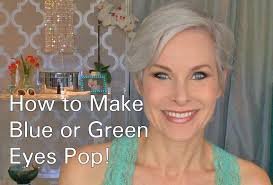 How To Do Eye Makeup To Make Blue Or Green Eyes Pop Youtube