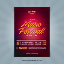 Party Flyer Magnificent Shiny Music Party Flyer Vector Free Download