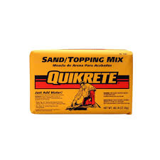 Quikrete 60 Lb Sand Topping Mix 110360 The Home Depot