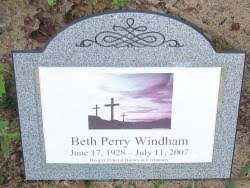 "Alice Elizabeth ""Beth"" Vause Windham (1928-2007) - Find A Grave ..."