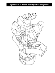Sprinter 2 7 liter diesel fuel injection diagnosissprinter diesel engine fuel injection