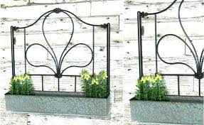 galvanized wall galvanized metal wall art gate wall planter metal galvanized silver farmhouse barnyard home and garden decor galvanized wall flower vase