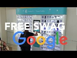 Google Vending Machine Awesome FREE Google VENDING MACHINE Swag Project Fi Travel Trolley Pixel XL