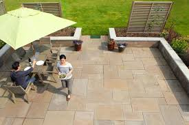 Laying Tiles on an Outside Terrace