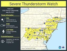 N.J. weather: Severe thunderstorm ...