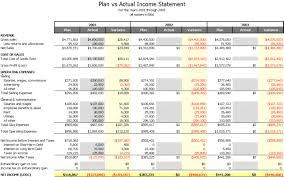 Wb Planvsactual Business Plan Template Excel Lorgprintmakers Com